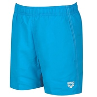 ARENA BOYS FUNDAMENTALS JR BOXER TURQUOISE-WHITE ,BOYS SWIMWEAR, BOYS SHORTS