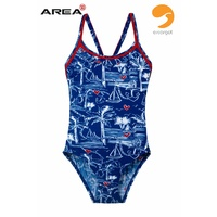 ESCARGOT GIRLS NAUTICAL ONE PIECE SWIMWEAR, CHILDREN'S SWIMWEAR