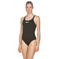 Arena Women's Solid Swim Pro One Piece Swimwear - Black, Women's Swimsuit