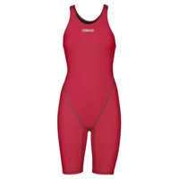 ARENA POWERSKIN ST 2.0  WOMEN'S RACE SUIT DEEP RED, SWIMMING RACE SUIT, FEMALE SWIM RACE SUIT - FINA APPROVED