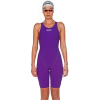 ARENA POWERSKIN ST 2.0  WOMEN'S RACE SUIT PURPLE, SWIMMING RACE SUIT, FEMALE SWIM RACE SUIT - FINA APPROVED