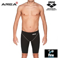ARENA POWERSKIN ST 2.0 MEN'S RACE JAMMER BLACK, SWIMMING RACE SUIT, MEN'S SWIM RACE JAMMER