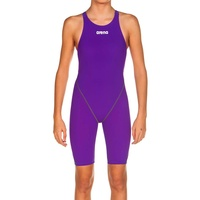 Arena Powerskin ST 2.0 Junior Girls Swimming Race Suit - Purple, Girls Racing Swimwear