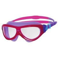 ZOGGS PHANTOM JUNIOR SWIMMING MASK PINK & PURPLE - AGES 6 - 14 - CHILDREN'S SWIMMING GOGGLES