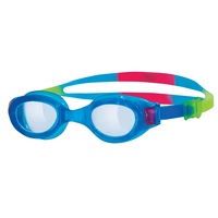 Zoggs Little Phantom Goggles Blue Multi 0 - 6  Years, Children's Swimming Goggles