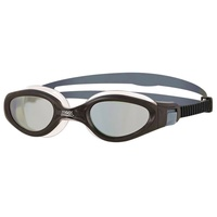 ZOGGS PHANTOM ELITE SWIMMING GOGGLES, BLACK/ WHITE  TRIATHLON GOGGLES