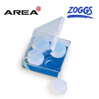 Zoggs Silicone Ear Putty, Swimming Ear Plugs, Silicone Ear Plugs