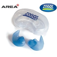 Zoggs Adult Aqua Plugs, Swimming Ear Plugs - Silicone Ear Plugs, Aqua Plugz