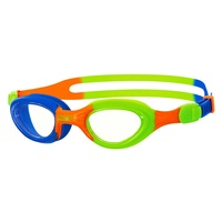 ZOGGS LITTLE SUPER SEAL SWIMMING GOGGLES 0 - 6 YEAR , BLUE ORANGE GREEN CHILDRENS GOGGLES