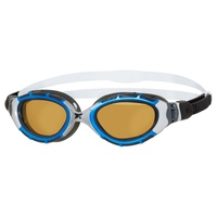 Zoggs Predator Flex 2.0 Polarized Ultra Photochromatic Swimming Goggles