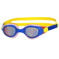 ZOGGS DC Super Heroes SUPERMAN Hologram Goggle, up to 14 YEARS, CHILDREN'S SWIMMING GOGGLES