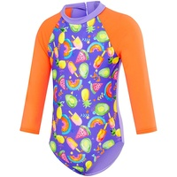 SPEEDO TODDLER GIRLS FRUITY PARTY SUN SUIT, CHILDREN'S SWIMWEAR