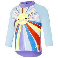 Speedo Toddler Girls Sunshine On My Mind Long Sleeve Sun Top, Toddler Girls Rashie