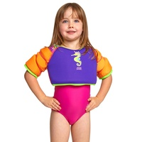 Zoggs Sea Unicorn Water Wings Swimming Vest - Purple - Children's Swim Jacket, Learn To Swim