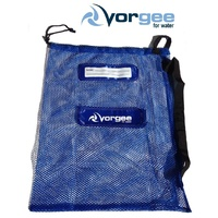 VORGEE SWIMMING BAG MESH BLUE 60cm x 50cm / SWIM BAG MESH