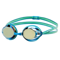 Speedo Opal Mirror Goggle Nordic/ Toucan Competition Racing Goggle, Training Goggle
