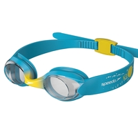 Speedo Sea Squad Illusion Goggle Blue/Yellow, Junior 2-6 Yrs, Childrens Swimming Goggles