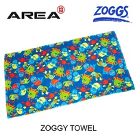 ZOGGS ZOGGY SWIM TOWEL - BLUE - CHILDREN'S BEACH TOWEL