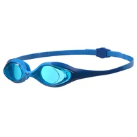 ARENA SPIDER JUNIOR SWIMMING GOGGLES, BLUE & BLUE, CHILDREN'S SWIMMING GOGGLES