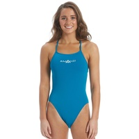 AMANZI BERMUDA TIE BACK WOMEN'S ONE PIECE SWIMWEAR, LADIES SWIMWEAR
