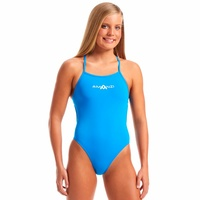 Amanzi Azure Tie Back Women's One Piece Swimwear, Ladies Swimwear