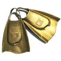 DMC Swim Fins Gold - Swim Training Fins / Swimming Flippers