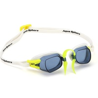 MP Michael Phelps CHRONOS SWEDISH GOGGLES - WHITE , Swimming GOGGLES Aqua Sphere