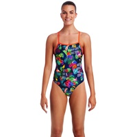 FUNKITA TROPIC TAG TIE ME TIGHT ONE PIECE WOMEN'S SWIMWEAR