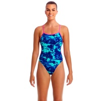 Funkita Women's Hawaiian Skies Cut Away One Piece Swimwear, Women's Swimsuit