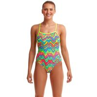 Funkita Body Contour ECO Single Strap One Piece Women's Swimwear, Ladies Swimsuit