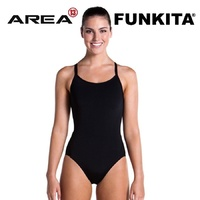 FUNKITA STILL BLACK DIAMOND BACK ONE PIECE WOMEN'S SWIMWEAR