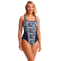 Funkita Women's Bar Bell Locked in Lucy One Piece Swimwear, Women's Swimsuit