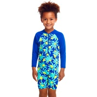 Funky Trunks Bird Brain ECO Go Jump Suit Toddler Boys, Chlorine Resistant Sun Suit