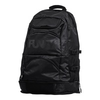 Funky Trunks Back to Black Elite Squad Backpack, Swimming Bag, Swimming Backpack, Swim Bag