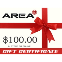 Area13 $100.00 Gift Certificate