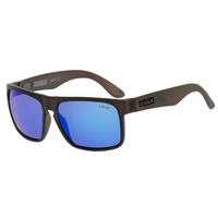 Liive Vision Sunglasses - Voyager Mirror Polarized Matt Xtal Smoke - Floating Frames
