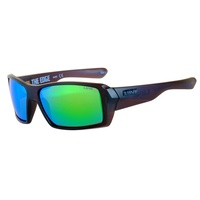 LIIVE VISION SUNGLASSES - THE EDGE MIRROR POLARIZED FLOATING FRAME MATT XTAL SMOKE