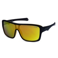 Liive Vision Sunglasses - Verdict Mirrored - Matt Black Orange - Live Sunglasses