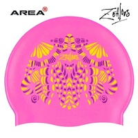 ZEALOUS LOLLY DOLLY Swim Cap, SWIMMING CAP, SILICONE SWIM CAP,SWIMMING GEAR