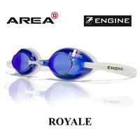 ENGINE ROYALE ATLANTIC BLUE SWIMMING GOGGLES, ENGINE GOGGLES, SWIMMING GOGGLES BLUE