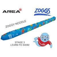 Zoggs Children's Swimming Noodle, Zoggy swim noodle BLUE, Learn To Swim, Kids Floaties