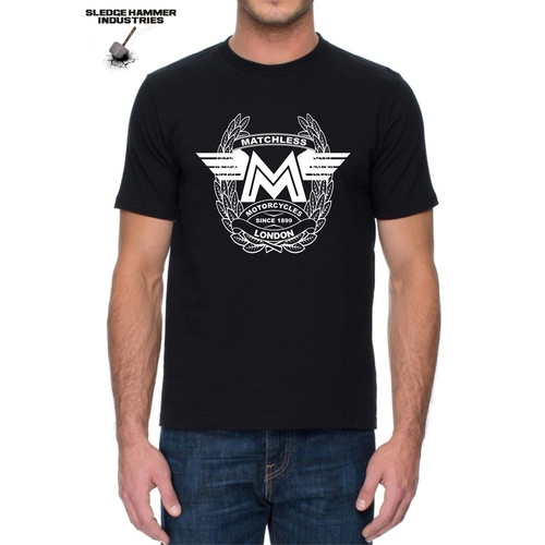 MATCHLESS MOTORCYCLE T SHIRT , Men's T Shirt, Motorcycle T Shirt , AJS T Shirts