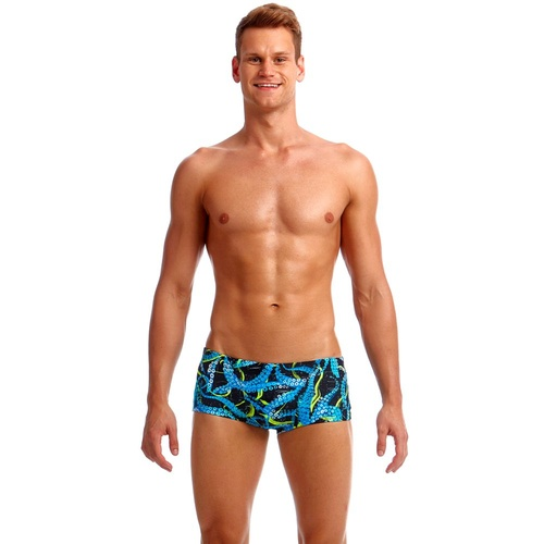 Funky Trunks Men's Sucker Punch Eco Classic Trunk Swimwear, Men's Swimsuit [Size: XS]